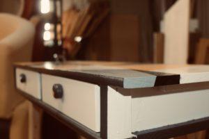 L'un des nombreux meubles passés par l'Aménagerie